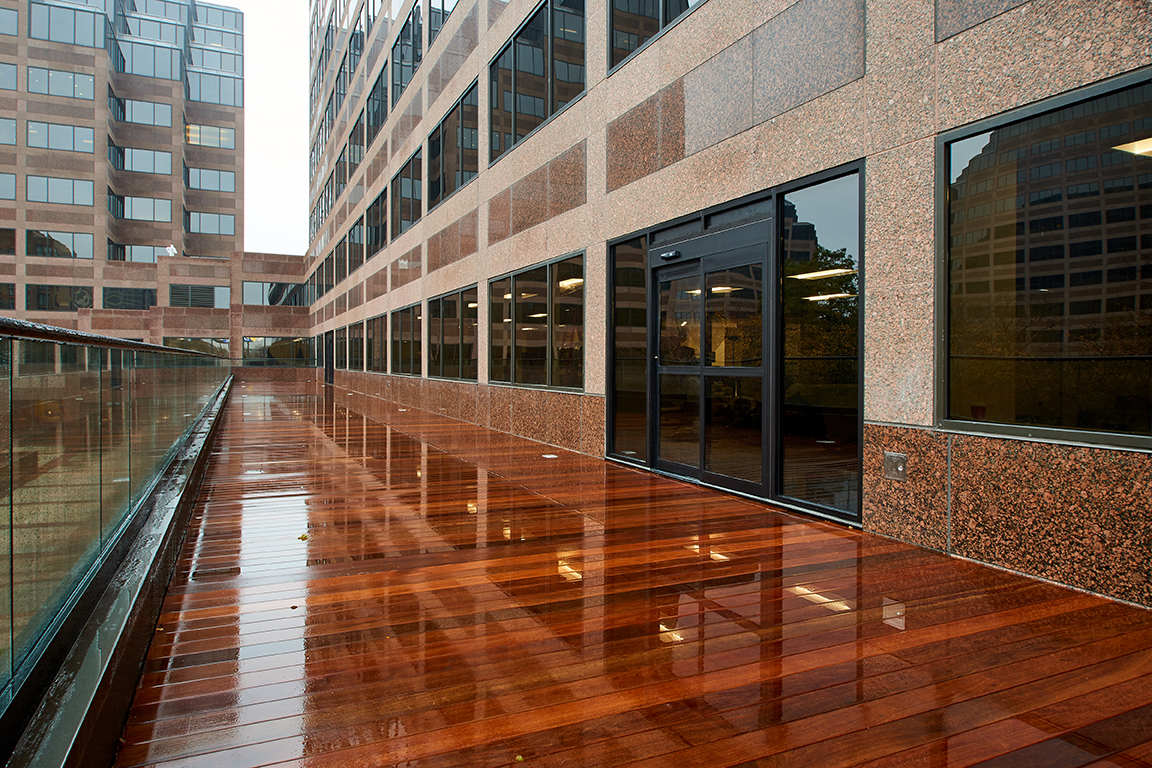 Mb Financial Roof Plaza Addition Burling Builders